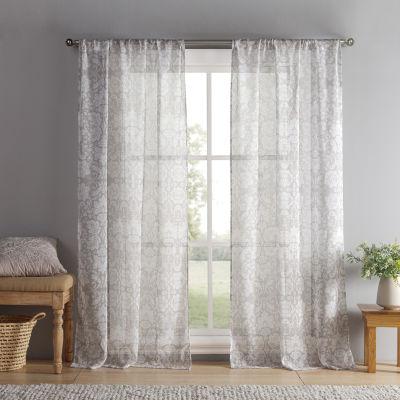 Kensie Jessica 2-Pack Curtain Panel