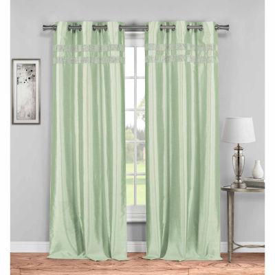 Kensie Kaia 2-Pack Curtain Panel
