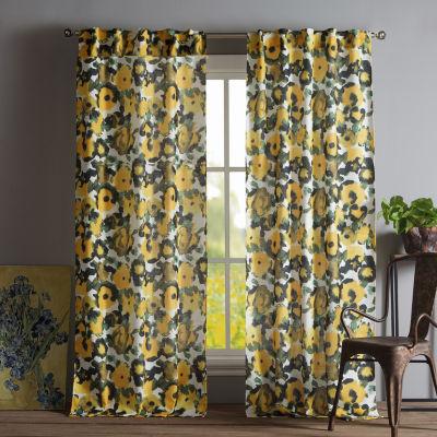 Kensie Keila 2-Pack Curtain Panel