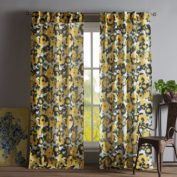 Kensie Keila 2-Pack Curtain Panel