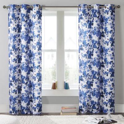 Kensie Laurent 2-Pack Curtain Panel