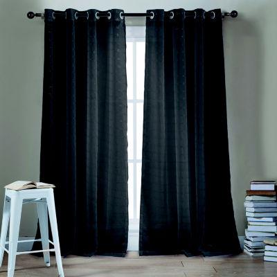Kensie Minikini 2-Pack Curtain Panel