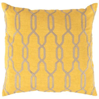 Decor 140 Asino Square Throw Pillow