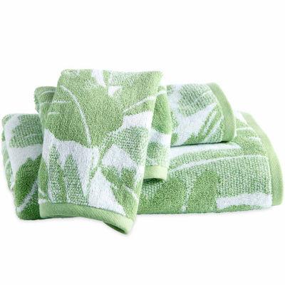 Destinations Miami Leaf Fingertip Towel