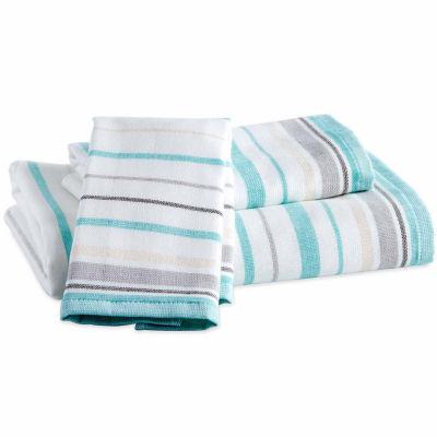Destinations Sea Stripe Bath Towel