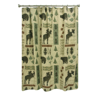 Bacova Guild Big Country Shower Curtain