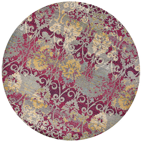 Kas Reina Grace Round Indoor Rugs