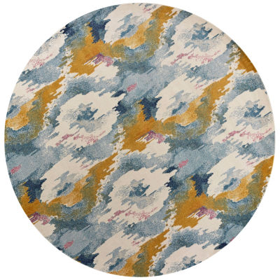 Reina Illusion Round Rugs