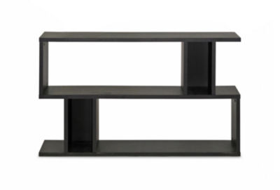 Baxton Studio Goodwin 2-Level Bookshelf