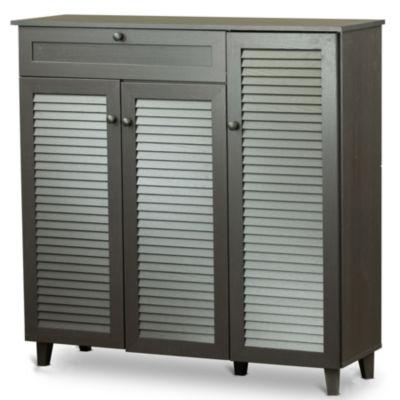 Baxton Studio Pocillo Accent Cabinet