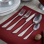 Megachef Gibbous 20-pc. 18/10 Stainless Steel Flatware Set