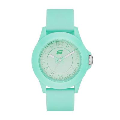 Skechers Womens Green Strap Watch-Sr6027