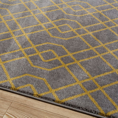 Alpine Twisted Trellis Rectangular Rug
