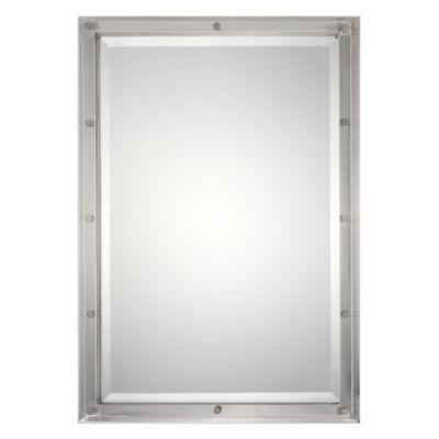 Manning Nickel Rectangle Mirror