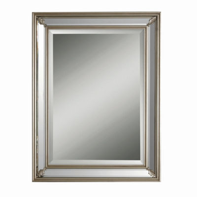 Jansen Silver Rectangle Mirror