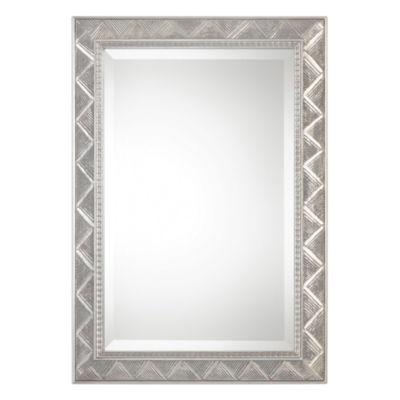 Ioway Metallic Silver Wall Mirror