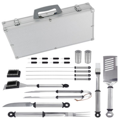 Mr. Bar-B-Q 21-pc. Stainless Steel Barbecue Tool Set