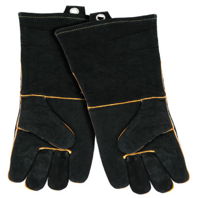 Mr. Bar B Q Extra-Long Leather Barbecue Gloves