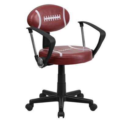 Sports Swivel Task Chair with Arms