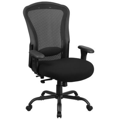HERCULES Series 24/7 Intensive Use Big & Tall 400 lb. Rated Mesh Multifunction Swivel Chair with Synchro-Tilt