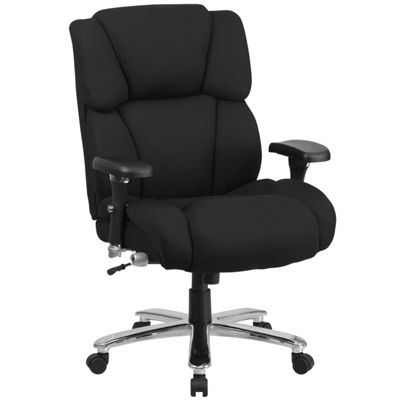 HERCULES Series 24/7 Intensive Use Big & Tall 400 lb. Rated Executive Swivel Chair with Lumbar Knob