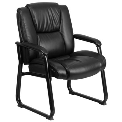 HERCULES Series 500 lb. Capacity Big & Tall Executive Side Chair with Sled Base