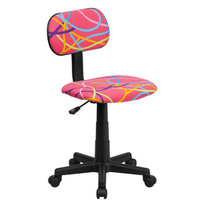 Printed Swivel Task Chair