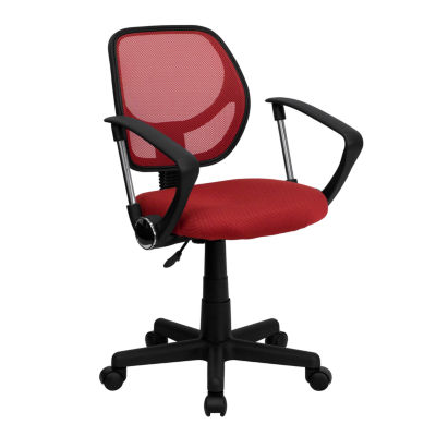 Mesh Swivel Task Chair with Arms