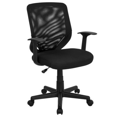 Mid-Back Mesh Swivel Task Chair with Arms
