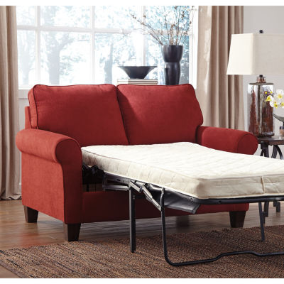 signature design by ashley zeth twin sofa sleeper