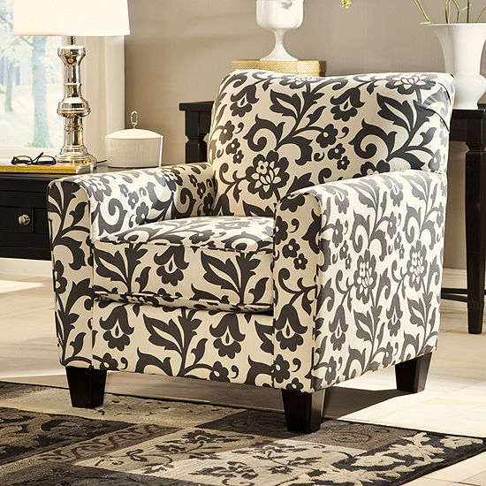 Signature Design By Ashley® Levon Fabric Club Chair