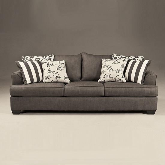 Signature Design By Ashley Levon Fabric Sofa