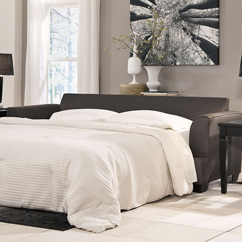 Signature Design by Ashley® Levon Fabric Queen Sofa Sleeper