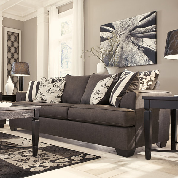 Signature Design by Ashley® Levon Fabric Queen Sofa Sleeper