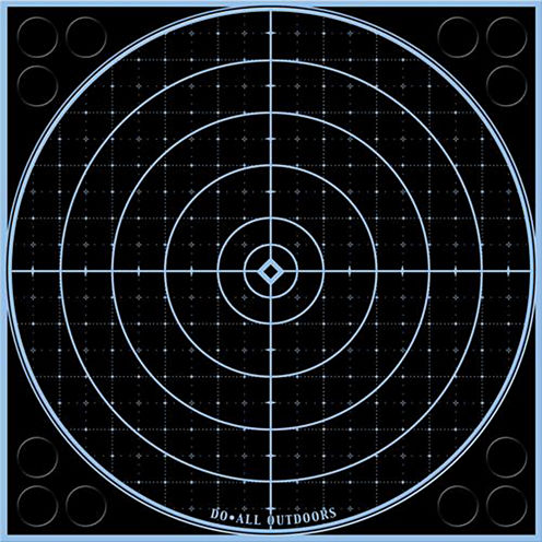 "Do All Outdoors Accublue Splatter Target 12"" Round5Pk"""