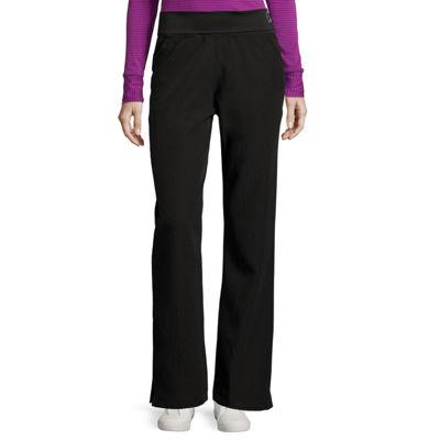 WonderWink® Womens Four-Stretch Foldover Knit Waist Pants - Plus
