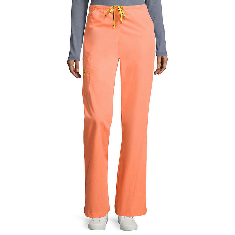WonderWink Womens 6-Pocket Flare-Leg Pants - Tall - Plus - Plus Tall plus size,  plus size fashion plus size appare