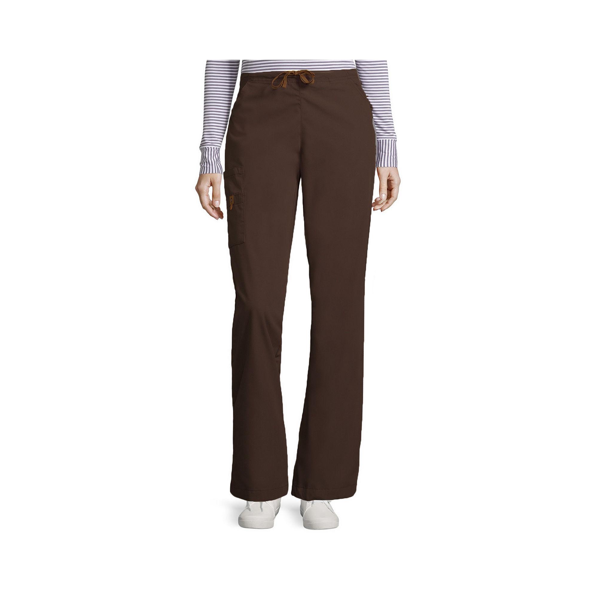 WonderWink Womens 6-Pocket Flare-Leg Pants - Plus and Tall plus size,  plus size fashion plus size appare