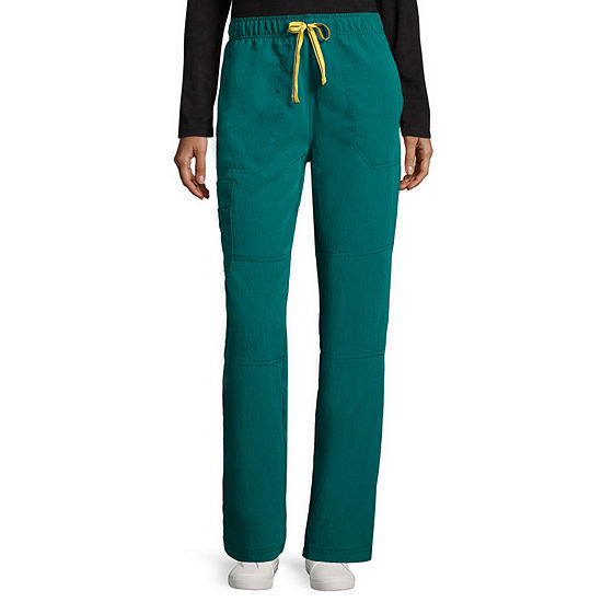 WonderWink® Four Stretch 5214 Womens Sporty Cargo Pants - Plus and Tall