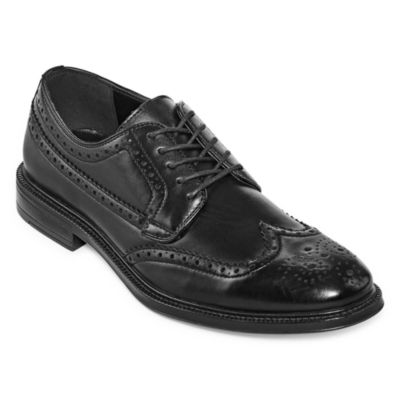 Stafford Mens Corepan Oxford Shoes Wing Tip
