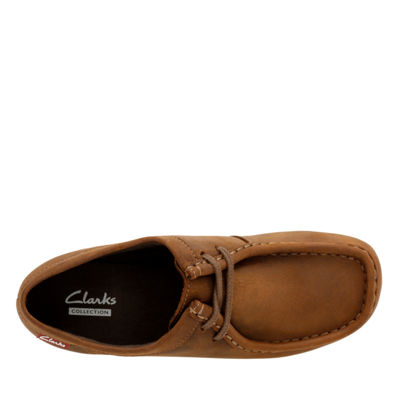 Clarks Padmora Leather Womens Oxford Shoes