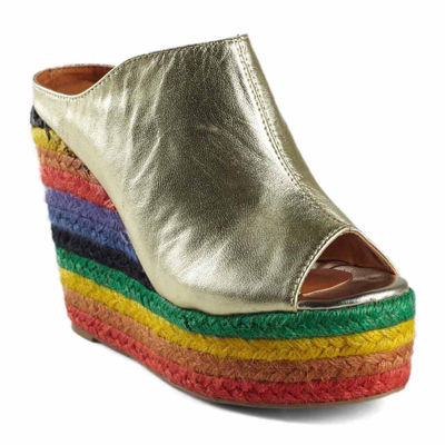 N.Y.L.A Cobain Womens Wedge Sandals