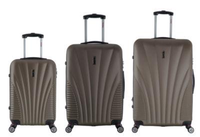 InUSA Chicago Lightweight Hardside Spinner 3-pc. Luggage Set