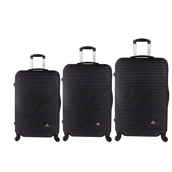 InUSA Royal Lightweight Hardside Spinner 3-pc. Luggage Set