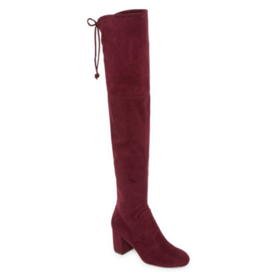 Style Charles Womens Over the Knee Boots