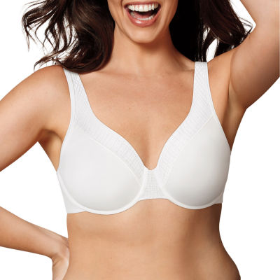 Playtex Love My Curves Incredibly Smooth Breathably Cool Lightly Lined Underwire Bra-  USJ493