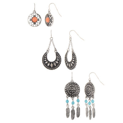 Decree 3-pc. Earring Sets
