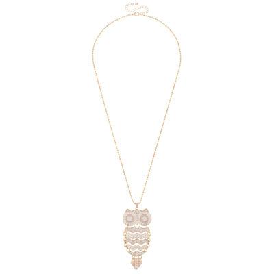 Decree Womens Multi Color Pendant Necklace