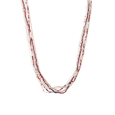 Decree Womens Beaded Necklace