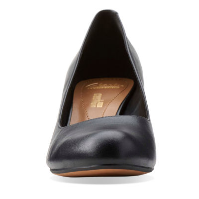 Clarks Arista Abe Womens Pumps-Wide